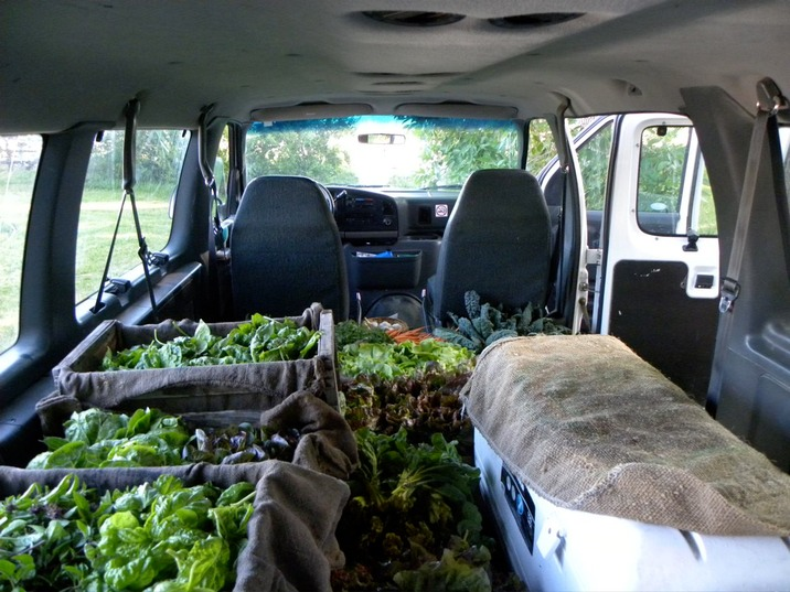 Produce headed to CVGM